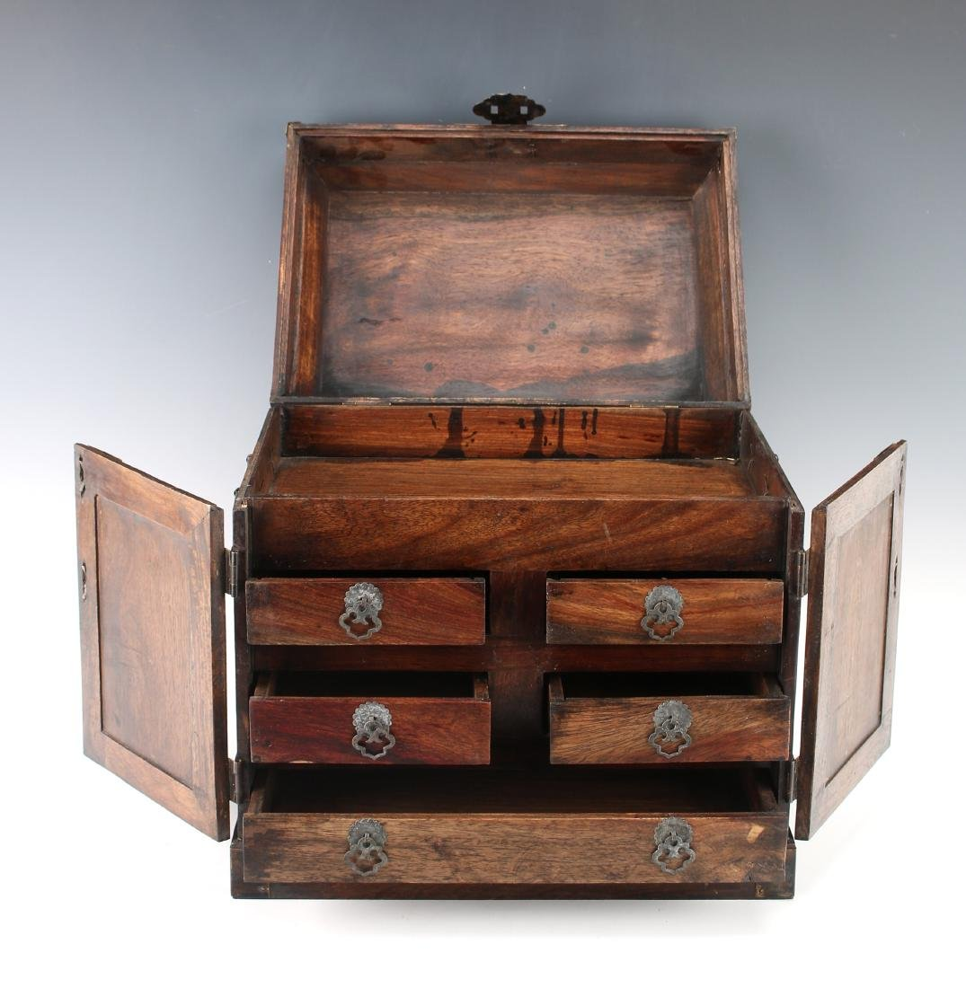 HUANGHUALI JEWELRY CHEST - 5
