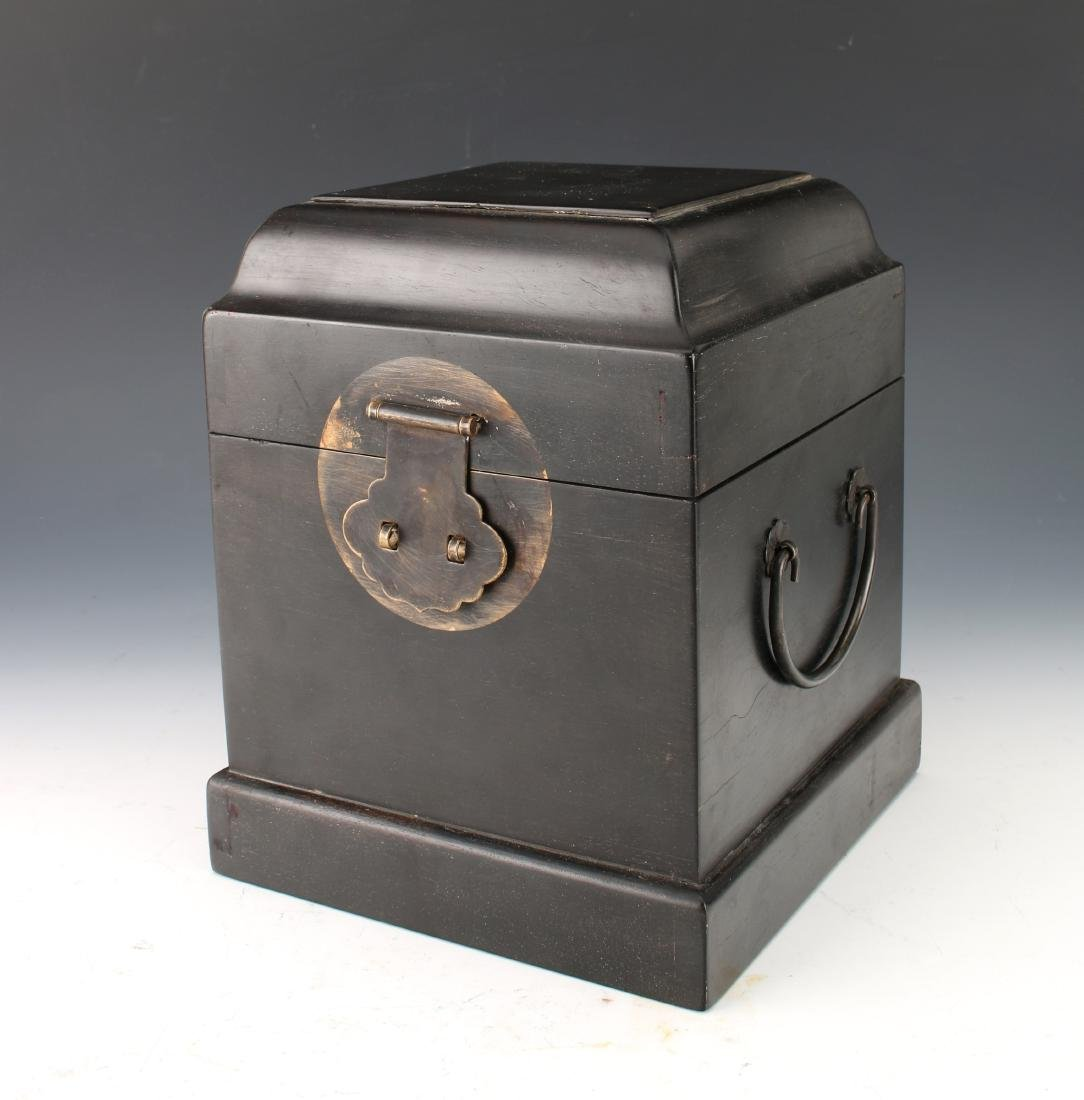 SMALL HINGED ZITAN SEAL BOX