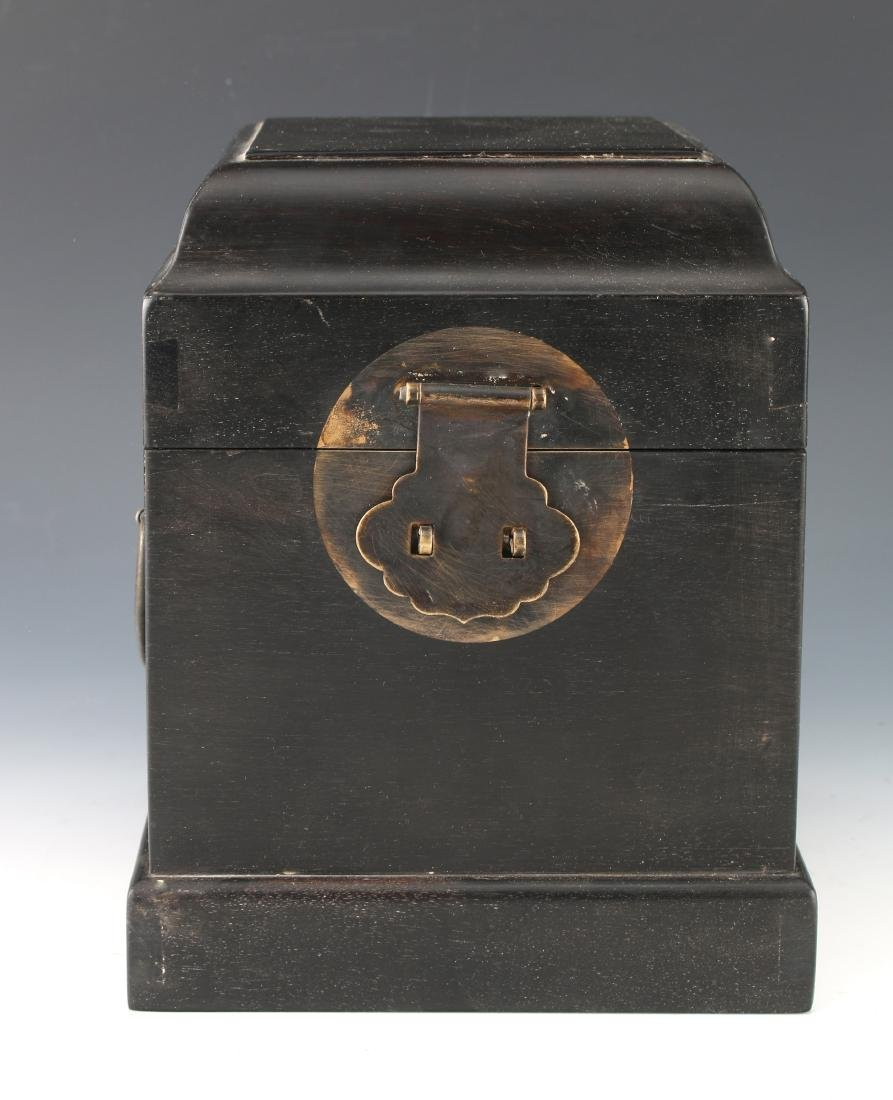 SMALL HINGED ZITAN SEAL BOX - 2
