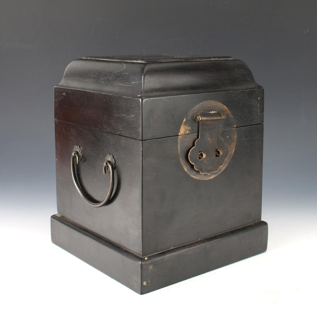 SMALL HINGED ZITAN SEAL BOX - 3