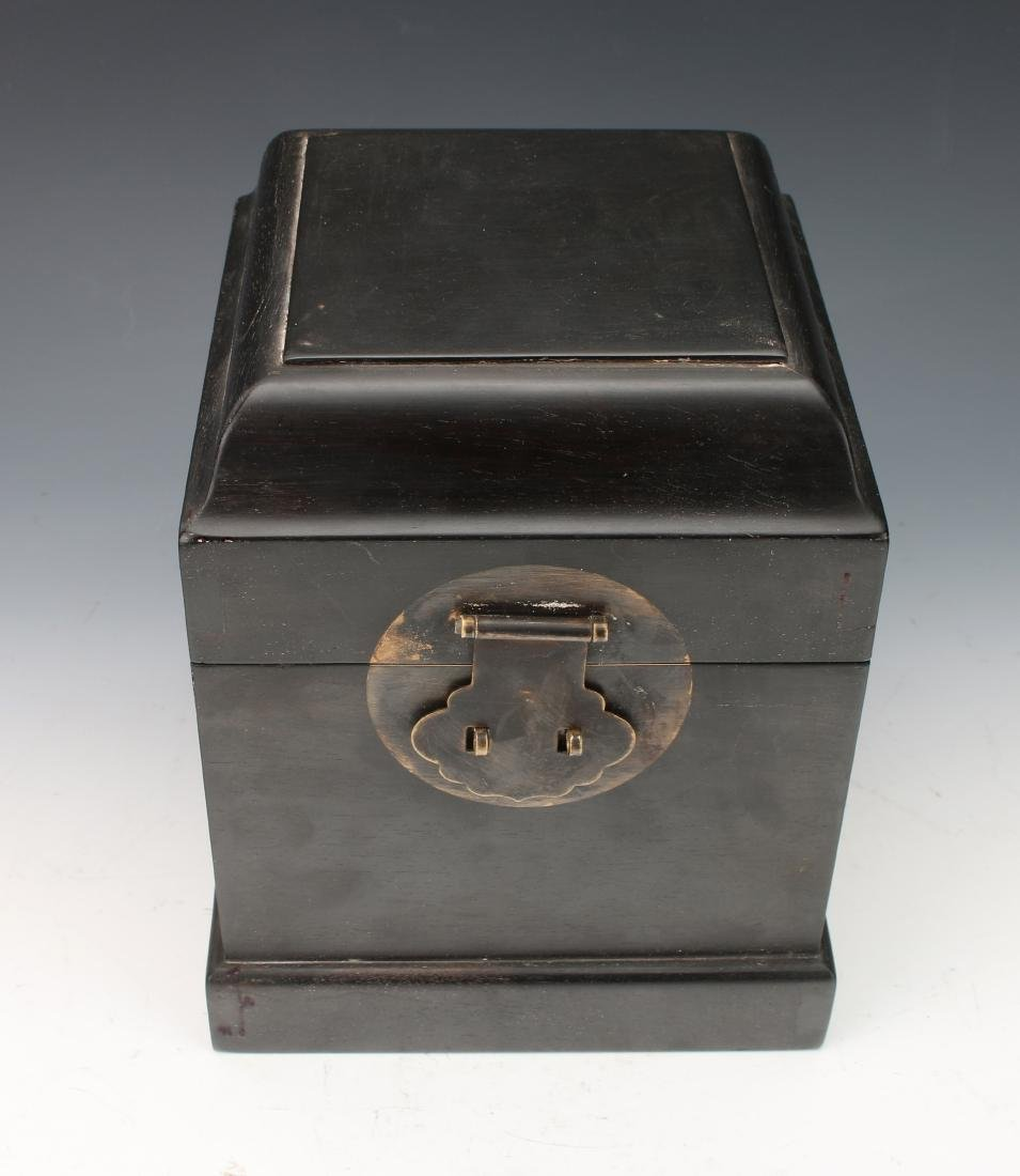 SMALL HINGED ZITAN SEAL BOX - 4