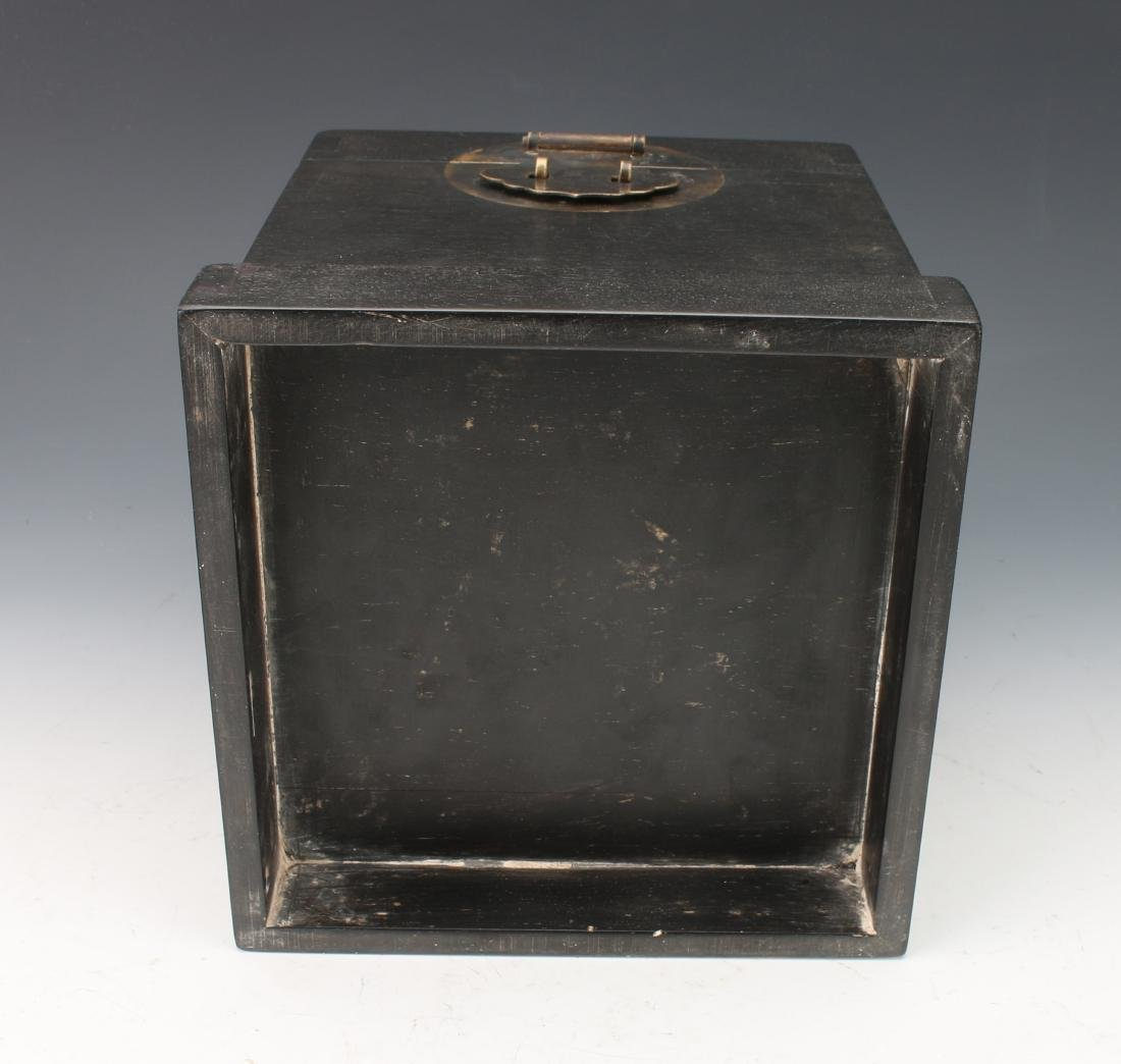SMALL HINGED ZITAN SEAL BOX - 7