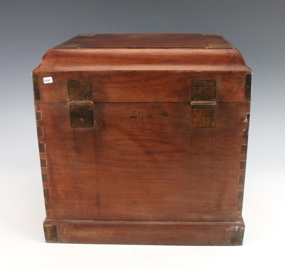 HUANGHUALI HINGED JEWELRY BOX - 10