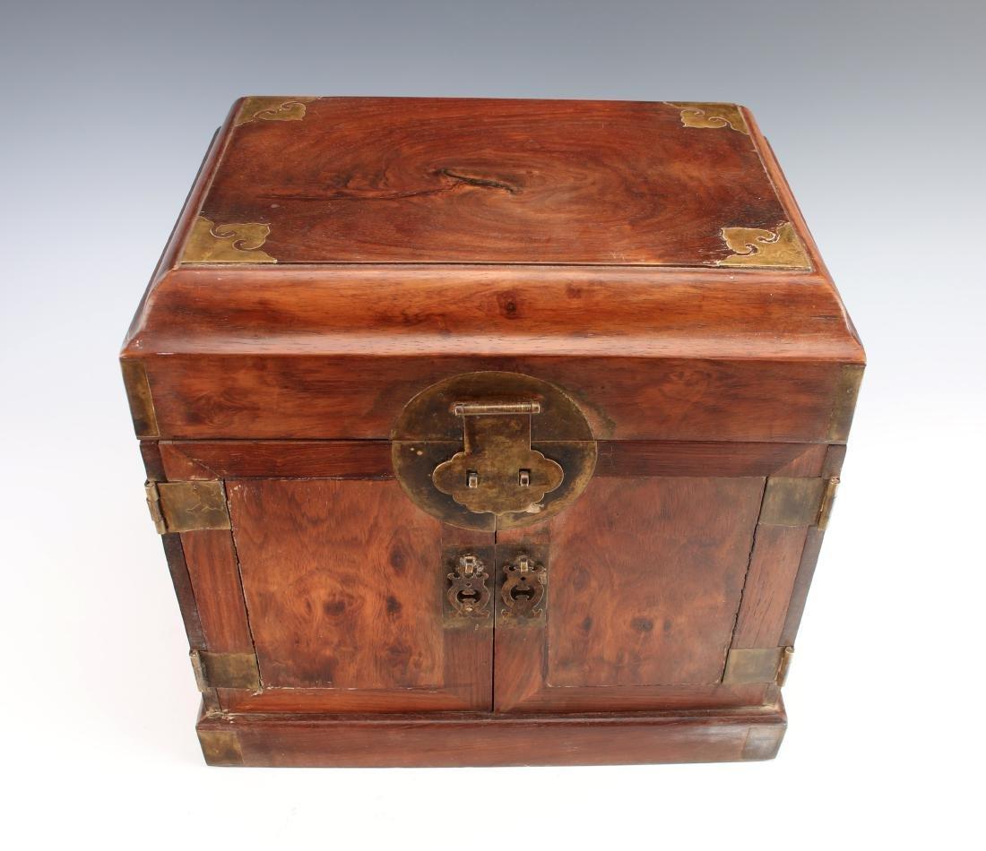 HUANGHUALI HINGED JEWELRY BOX - 2