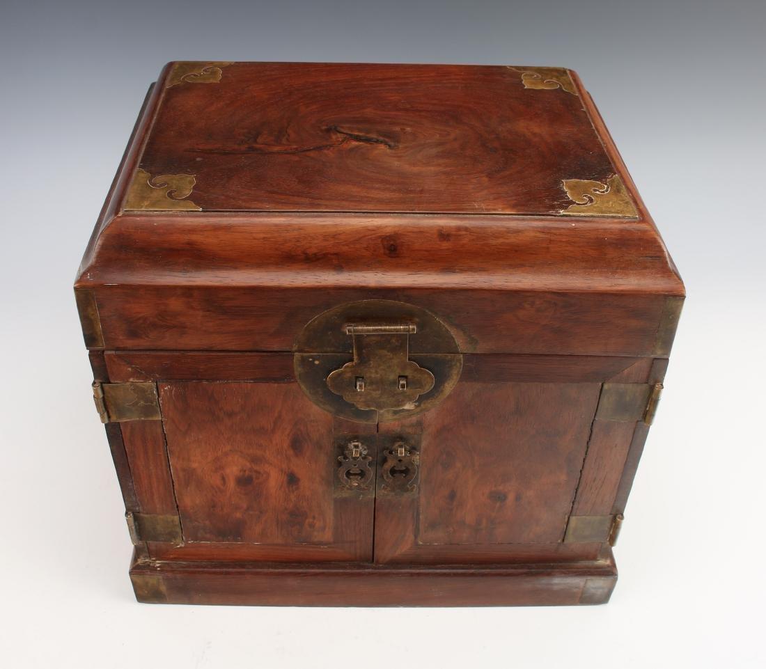 HUANGHUALI HINGED JEWELRY BOX - 3
