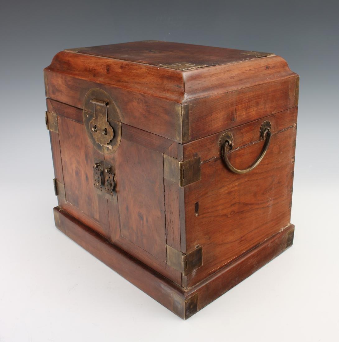 HUANGHUALI HINGED JEWELRY BOX - 4