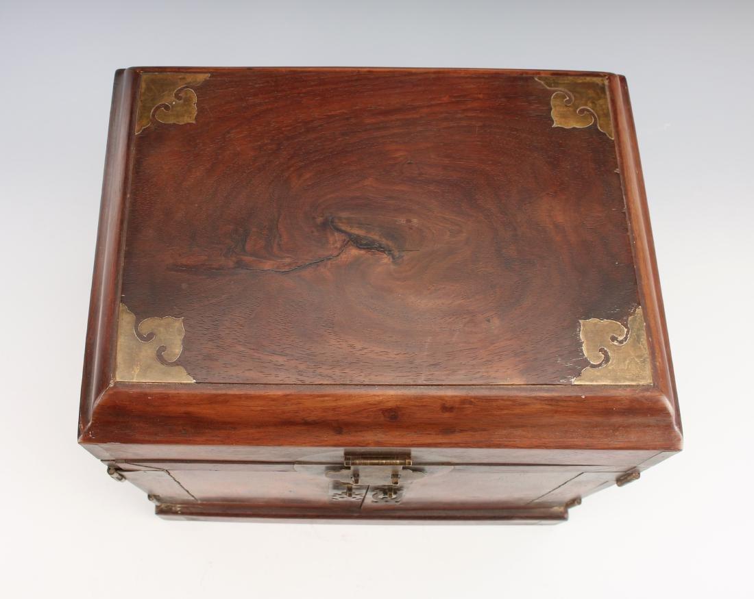 HUANGHUALI HINGED JEWELRY BOX - 6