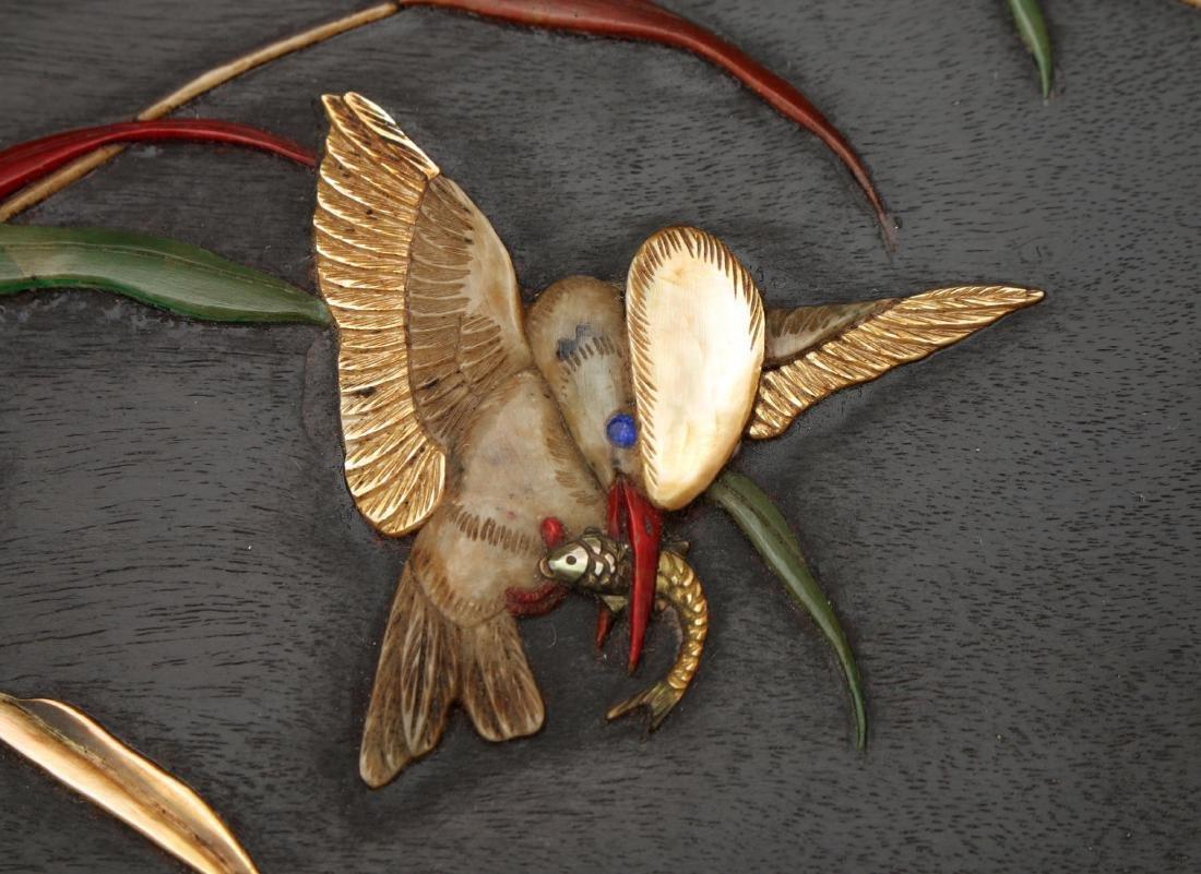 ZITAN AND STONE BIRD BOX - 3