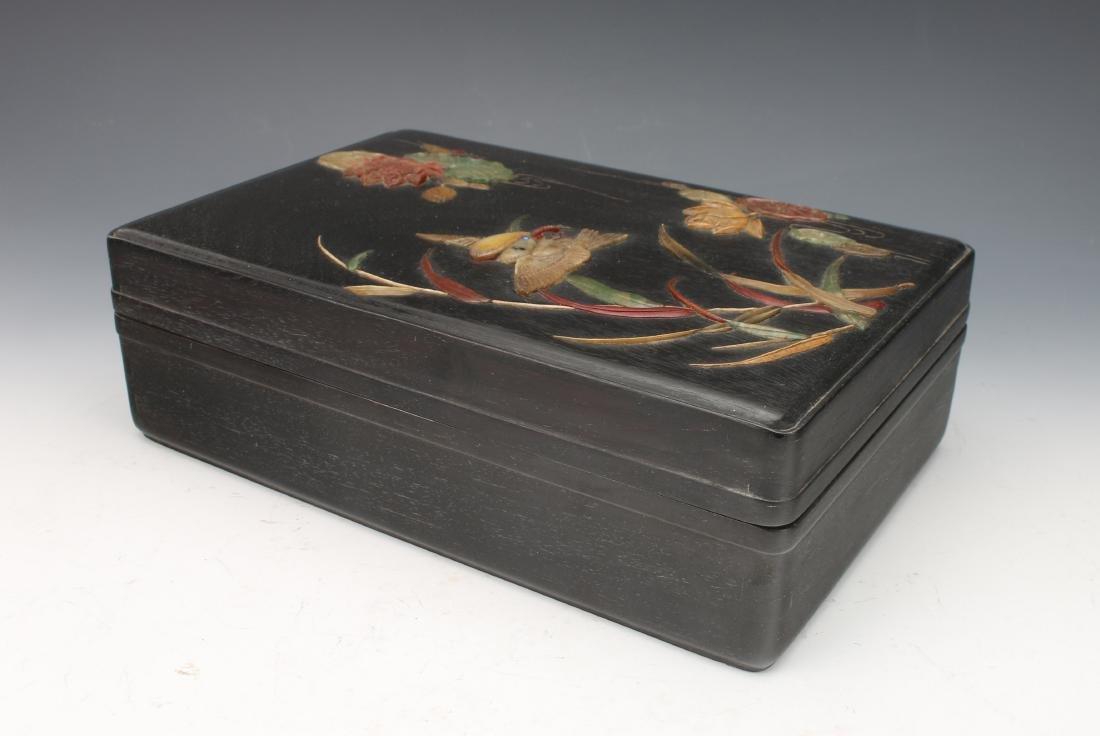 ZITAN AND STONE BIRD BOX - 8