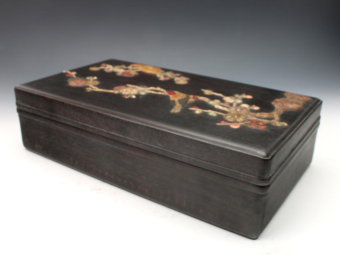 LARGE ZITAN AND STONE BOX - 8