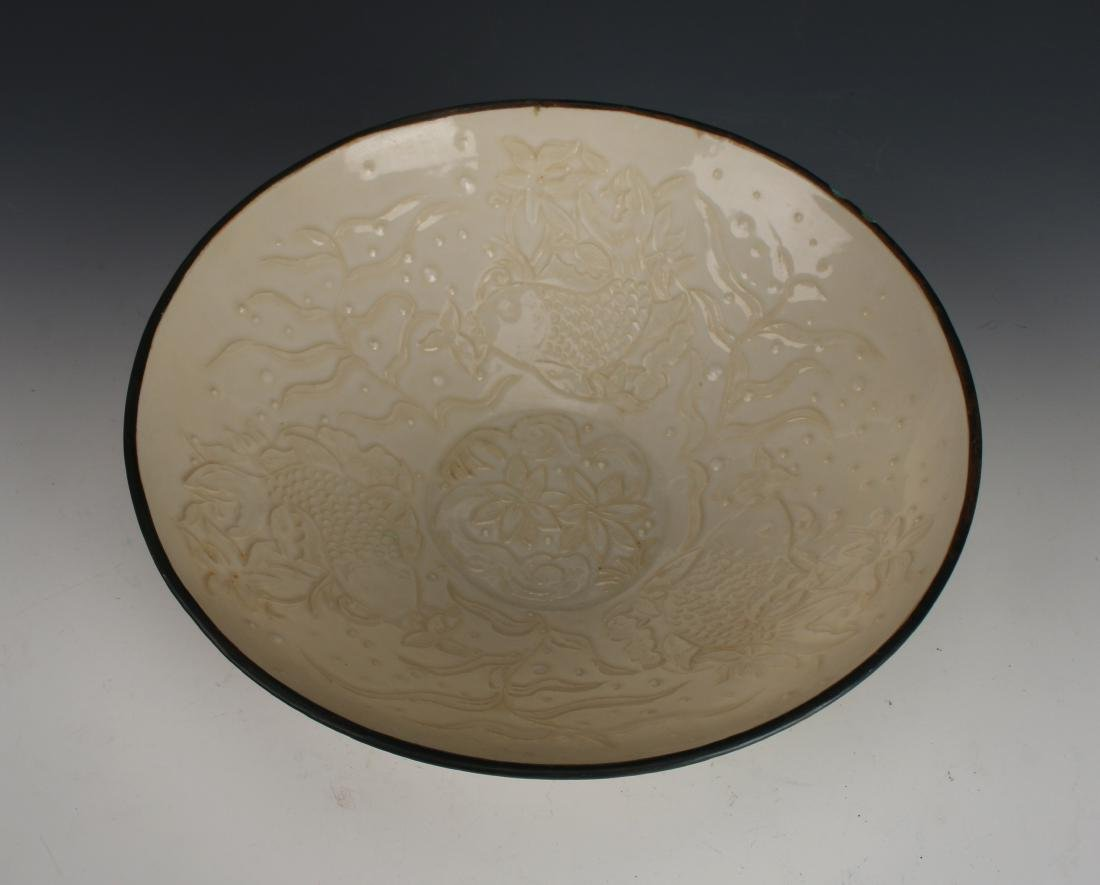 EMBOSSED DING WARE BOWL