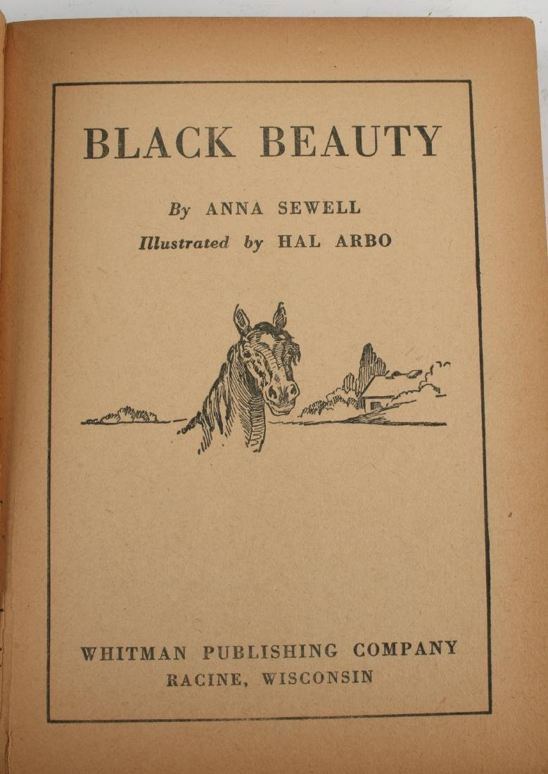 BLACK BEAUTY BY ANNA SEWELL 1938 - 3