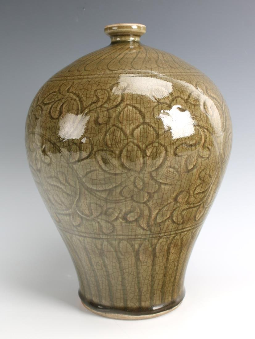 GREEN MEIPING VASE - 3