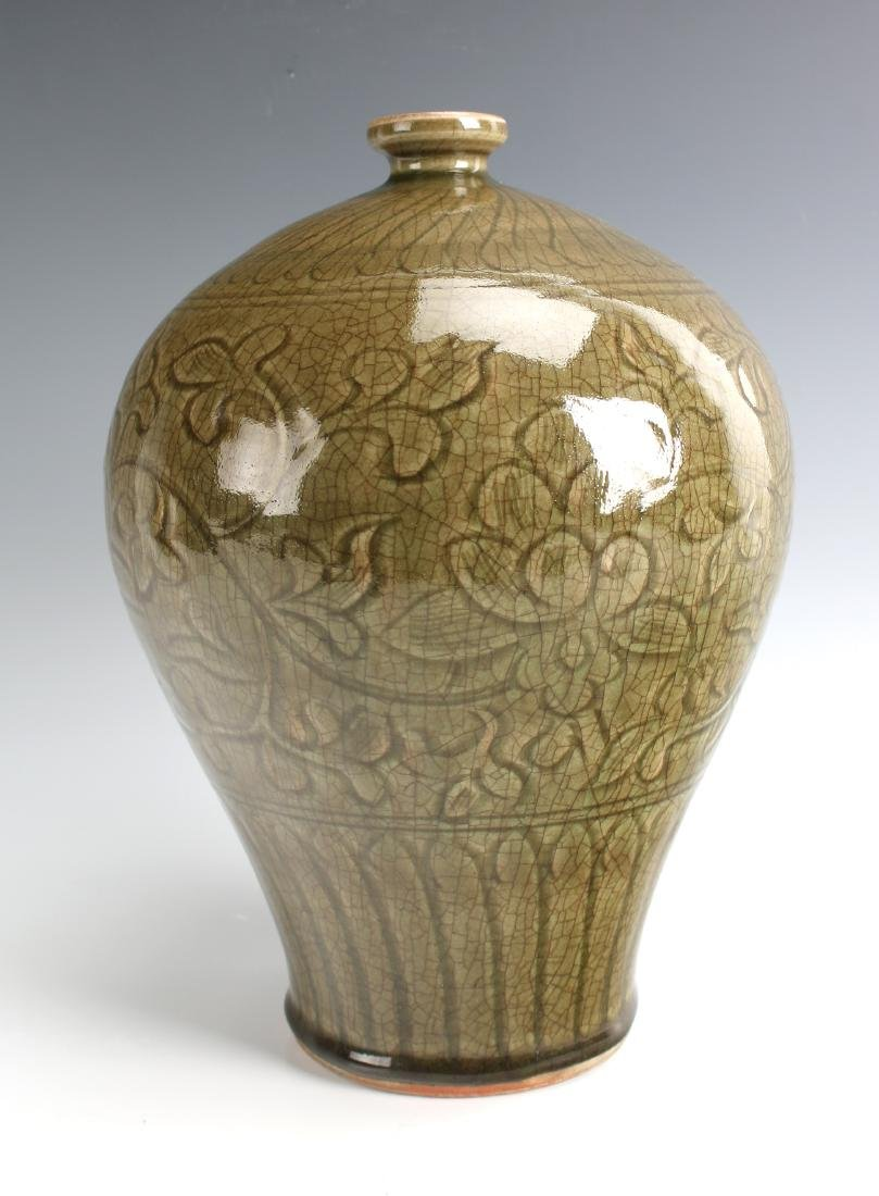 GREEN MEIPING VASE - 5