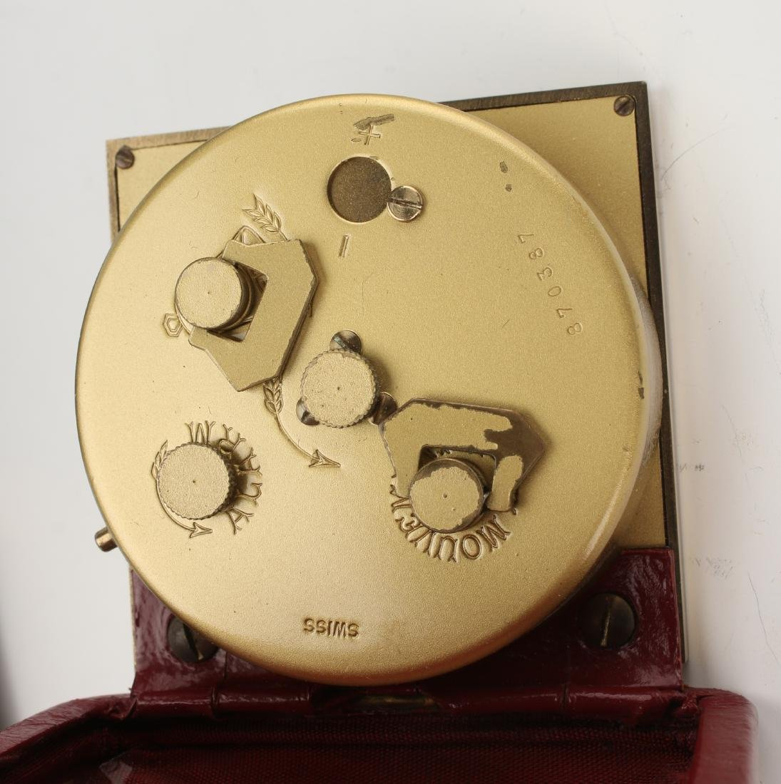 5 ASSORTED CLOCKS: CARRIAGE, TRAVEL, ANNIVERSARY - 3