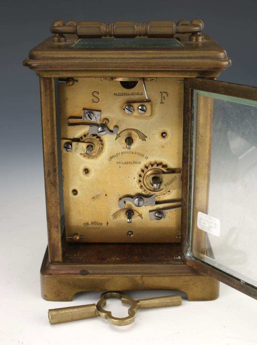 5 ASSORTED CLOCKS: CARRIAGE, TRAVEL, ANNIVERSARY - 6