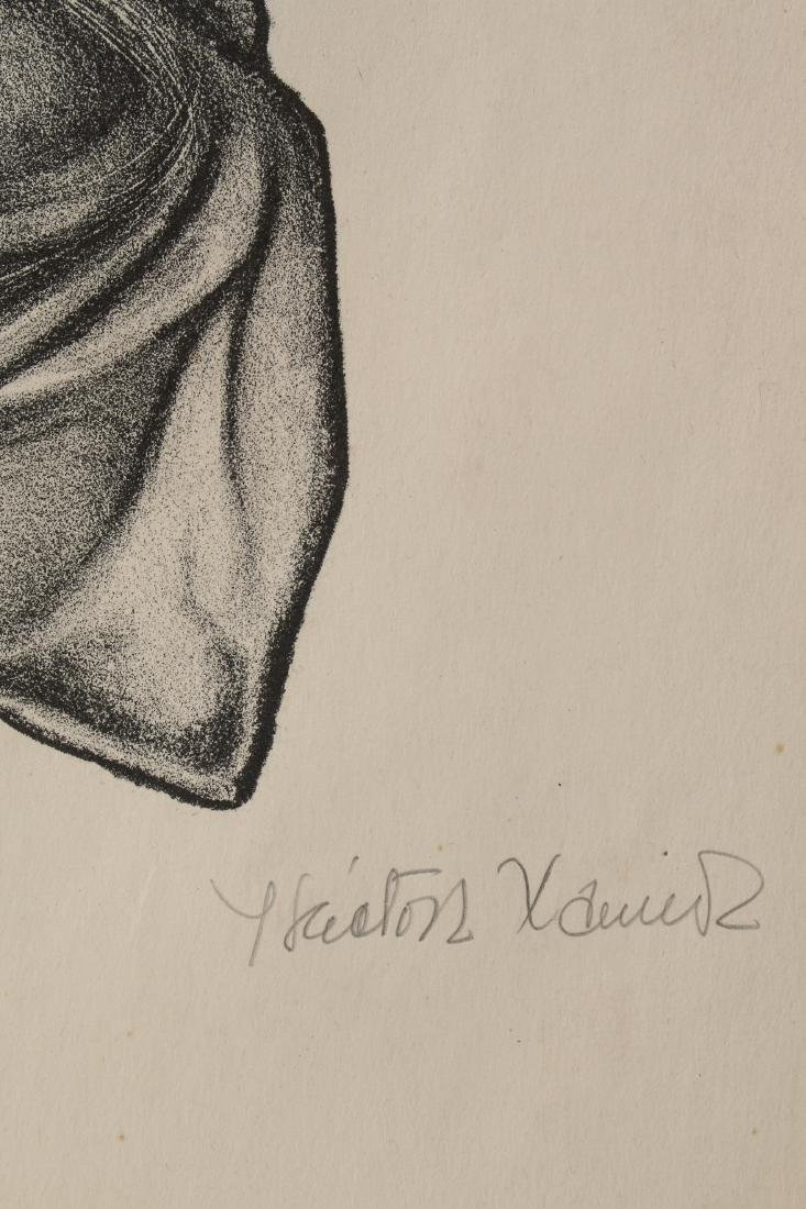 HECTOR XAVIER SIGNED NUMBERED PRINT - 2