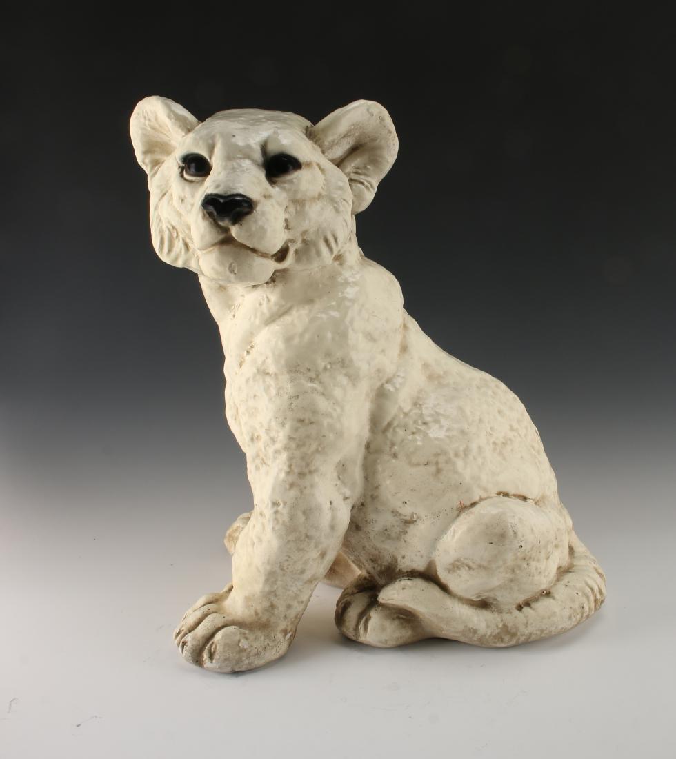 CERAMIC LION CUB