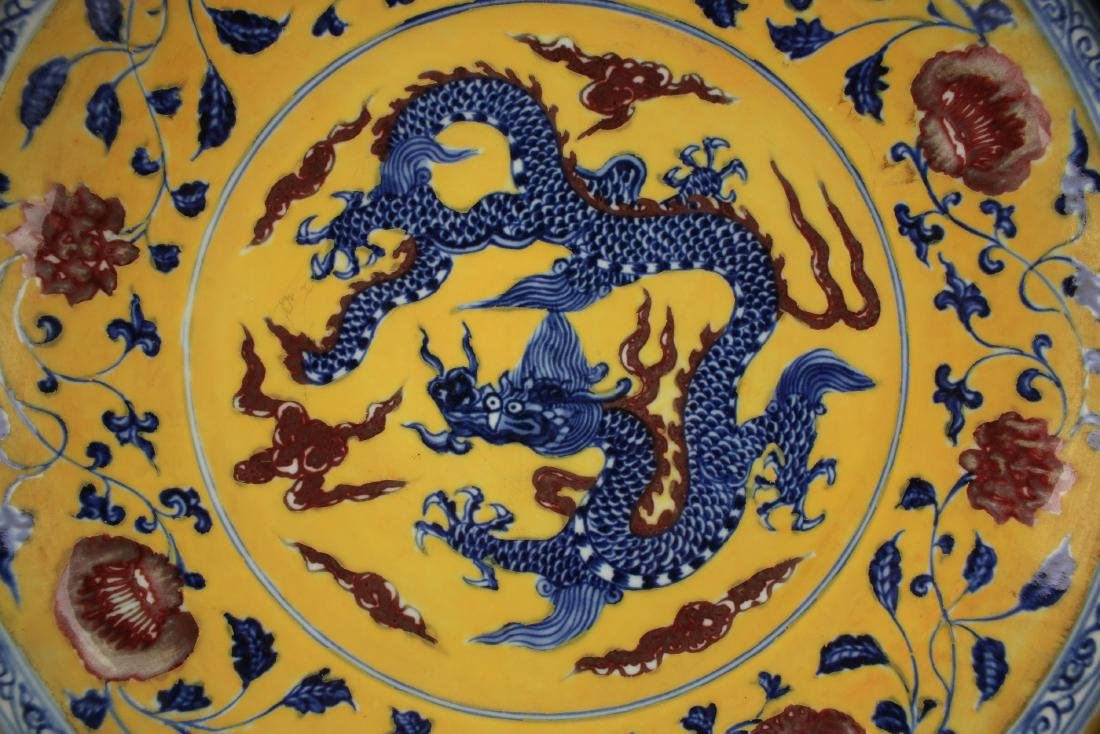 YELLOW & BLUE DRAGON CHARGER - 2