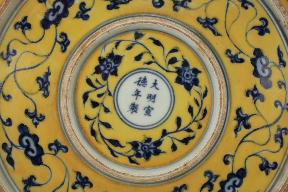 YELLOW & BLUE DRAGON CHARGER - 6
