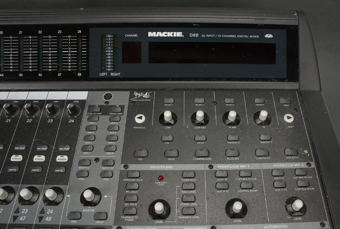 MACKIE D8B 56 INPUT 72 CHANNEL MIXING CONSOLE - 2