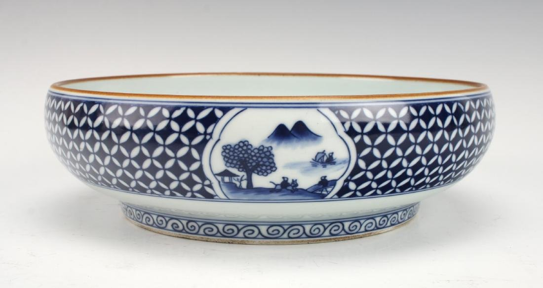 BLUE AND WHITE BOWL - 2