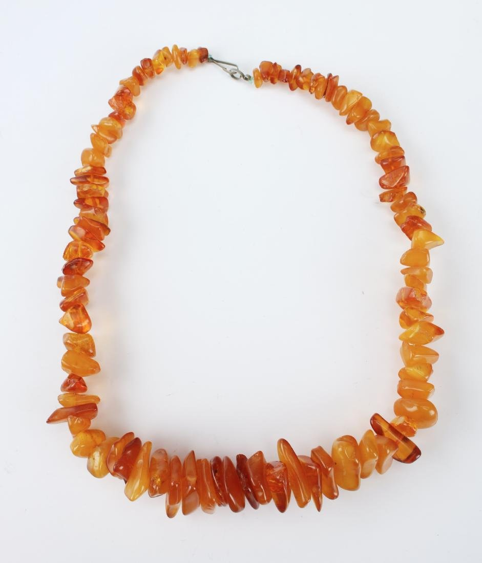 GENUINE AMBER NECKLACE