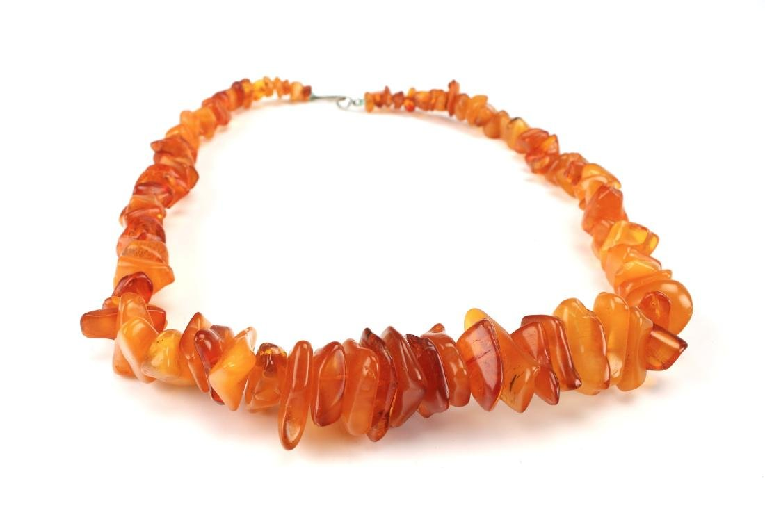 GENUINE AMBER NECKLACE - 2