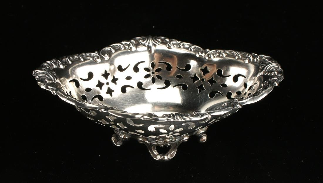GORHAM STERLING NUT BOWL - 2