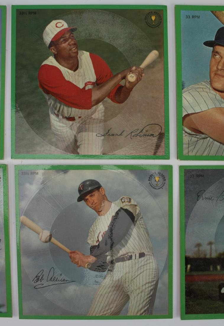 7 BASEBALL PLAYER STORY RECORDS 33 RPM - 3
