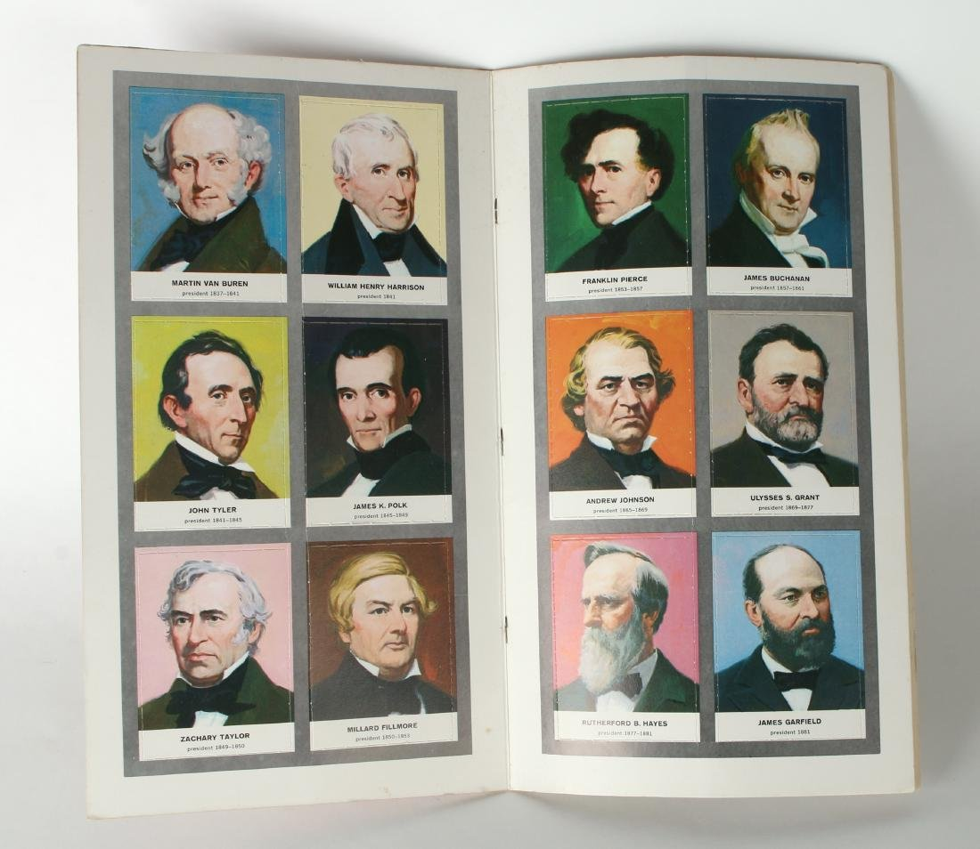 PRESIDENTS OF THE US TRADING CARDS 1960 - 3