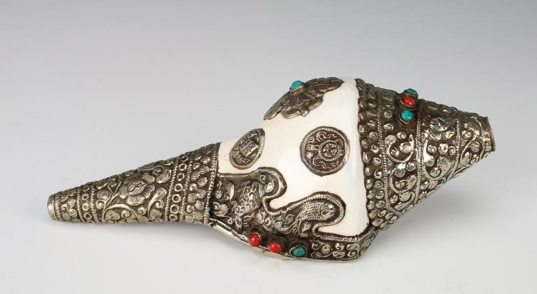 TIBETAN CONCH SHELL