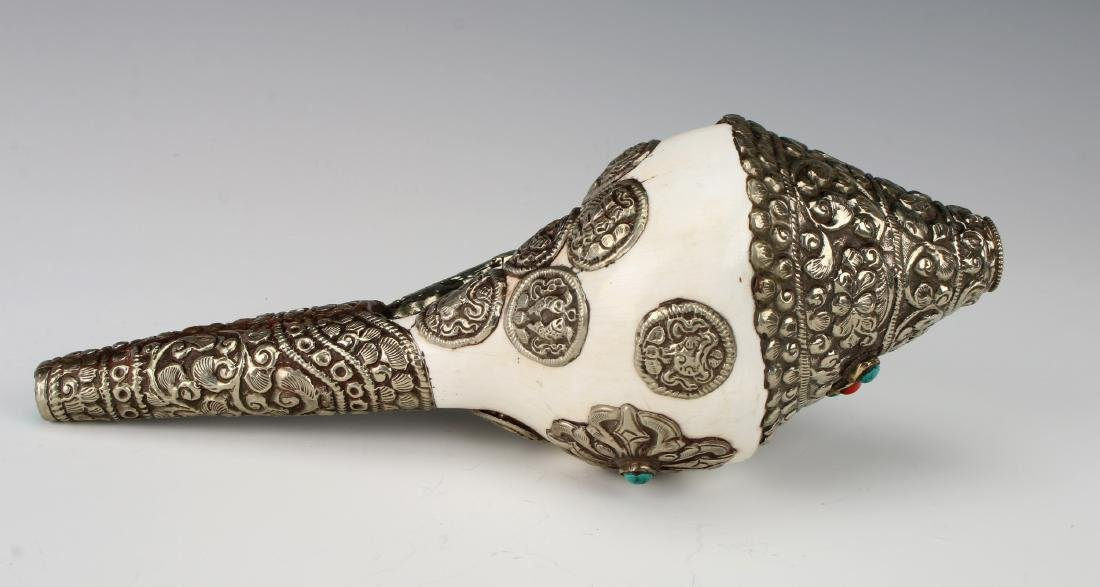TIBETAN CONCH SHELL - 4