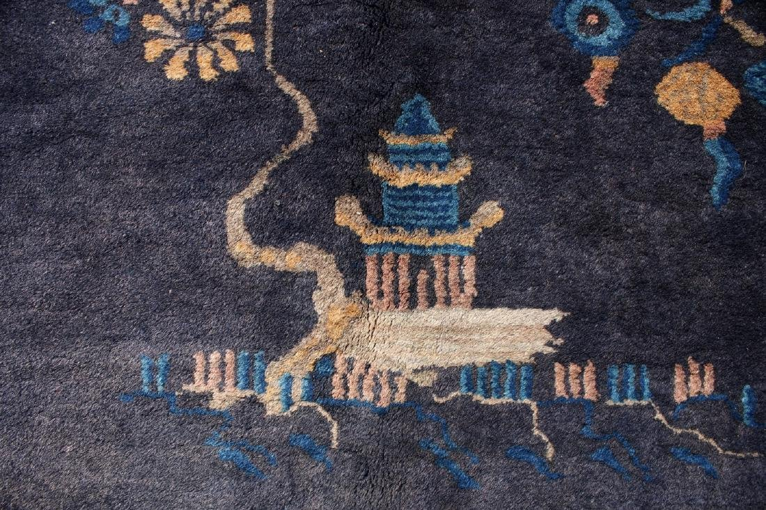 ANTIQUE CHINESE RUG - 10