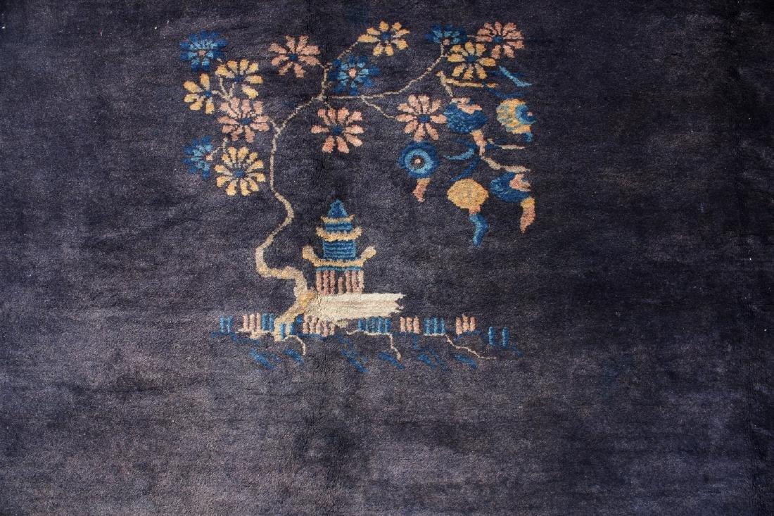 ANTIQUE CHINESE RUG - 2