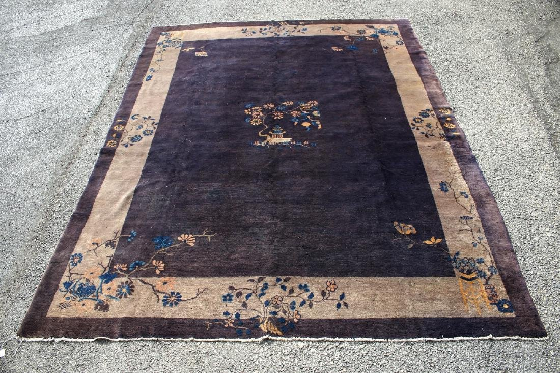 ANTIQUE CHINESE RUG - 3