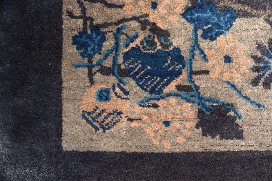ANTIQUE CHINESE RUG - 5