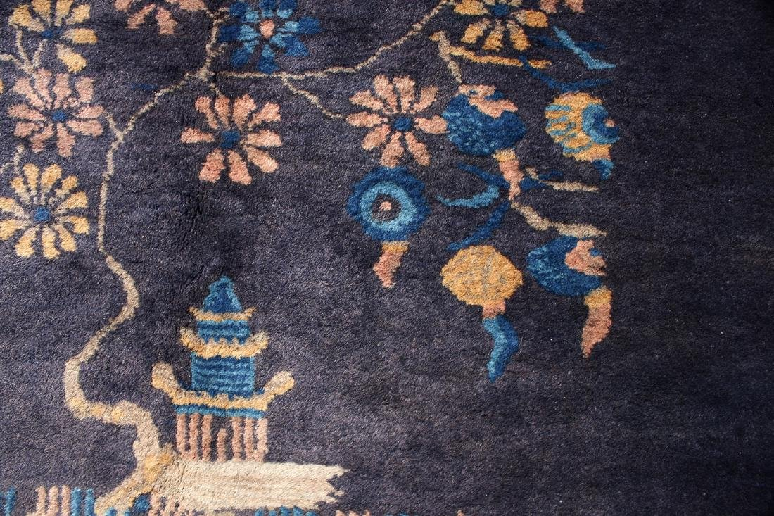 ANTIQUE CHINESE RUG - 6