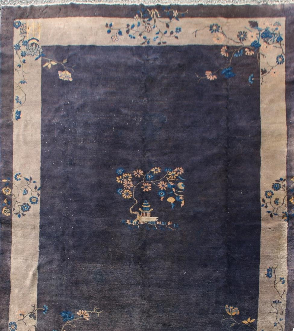 ANTIQUE CHINESE RUG - 9