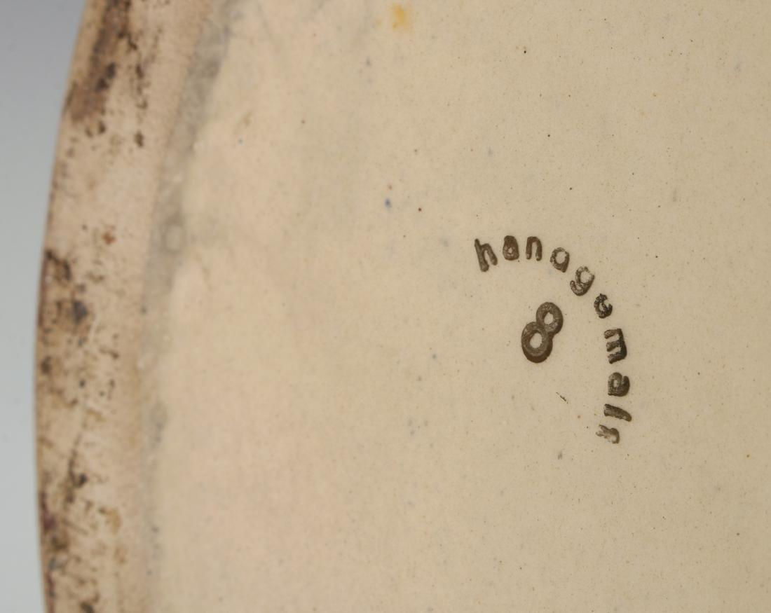 BEER STEIN ANTIQUE HANDGEMALT 8 FOUR LITER - 10