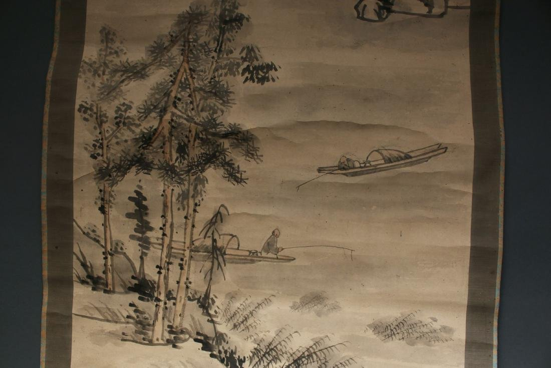 CHINESE LANDSCAPE SCROLL - 4