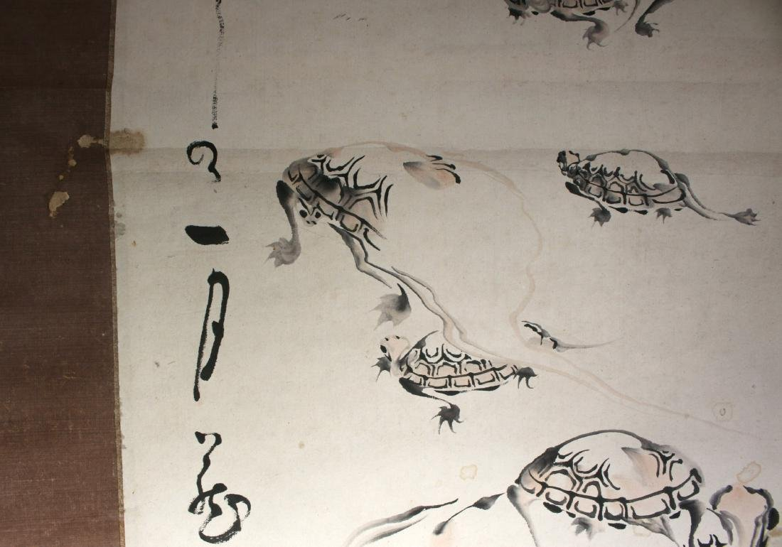 JAPANESE TURTLE SCROLL - 10