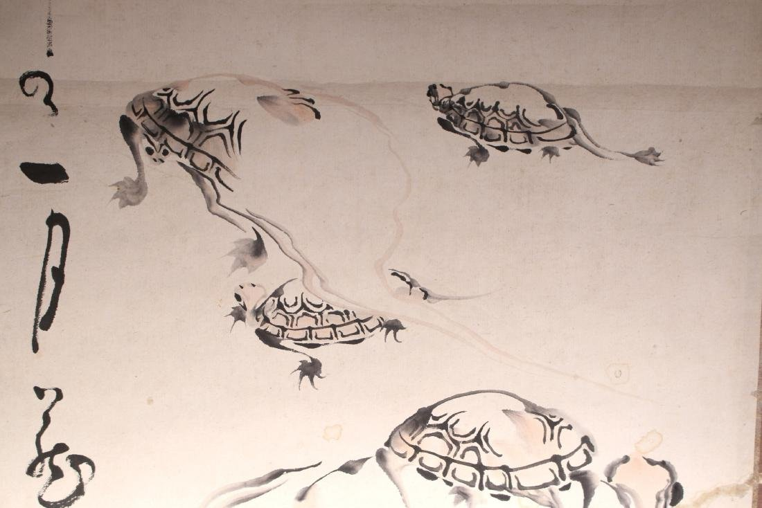 JAPANESE TURTLE SCROLL - 4