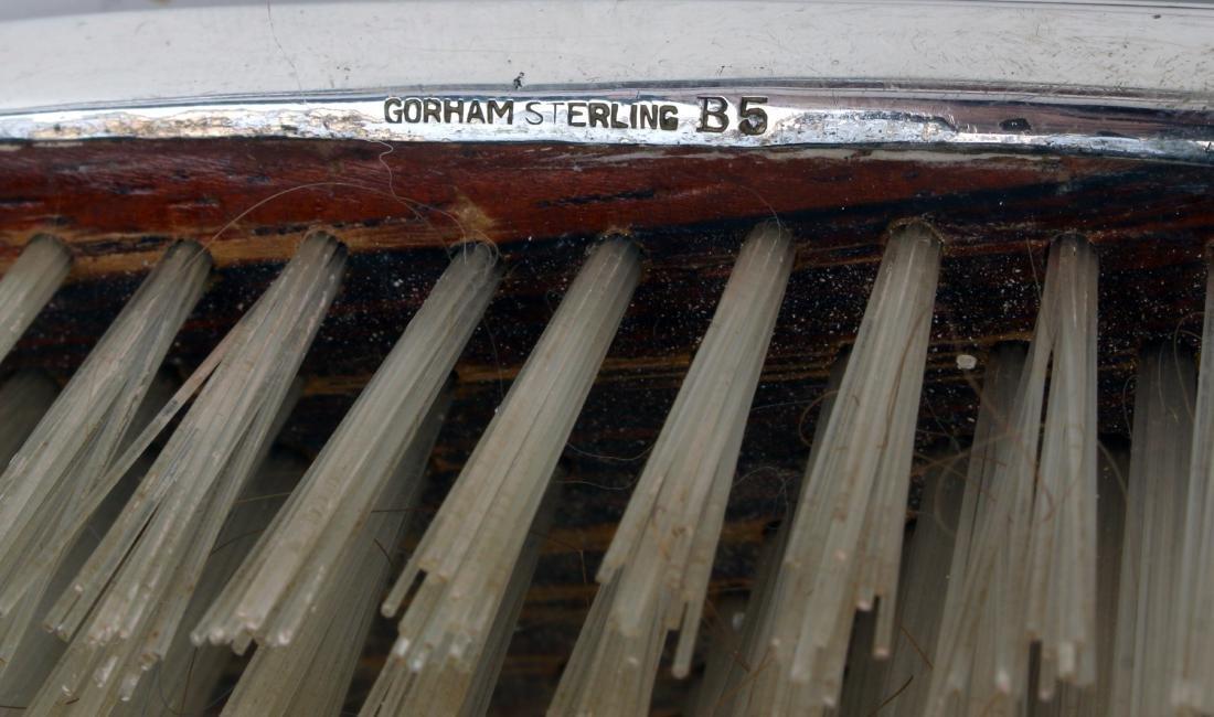 SEVEN PIECE GORHAM STERLING VANITY SET - 7