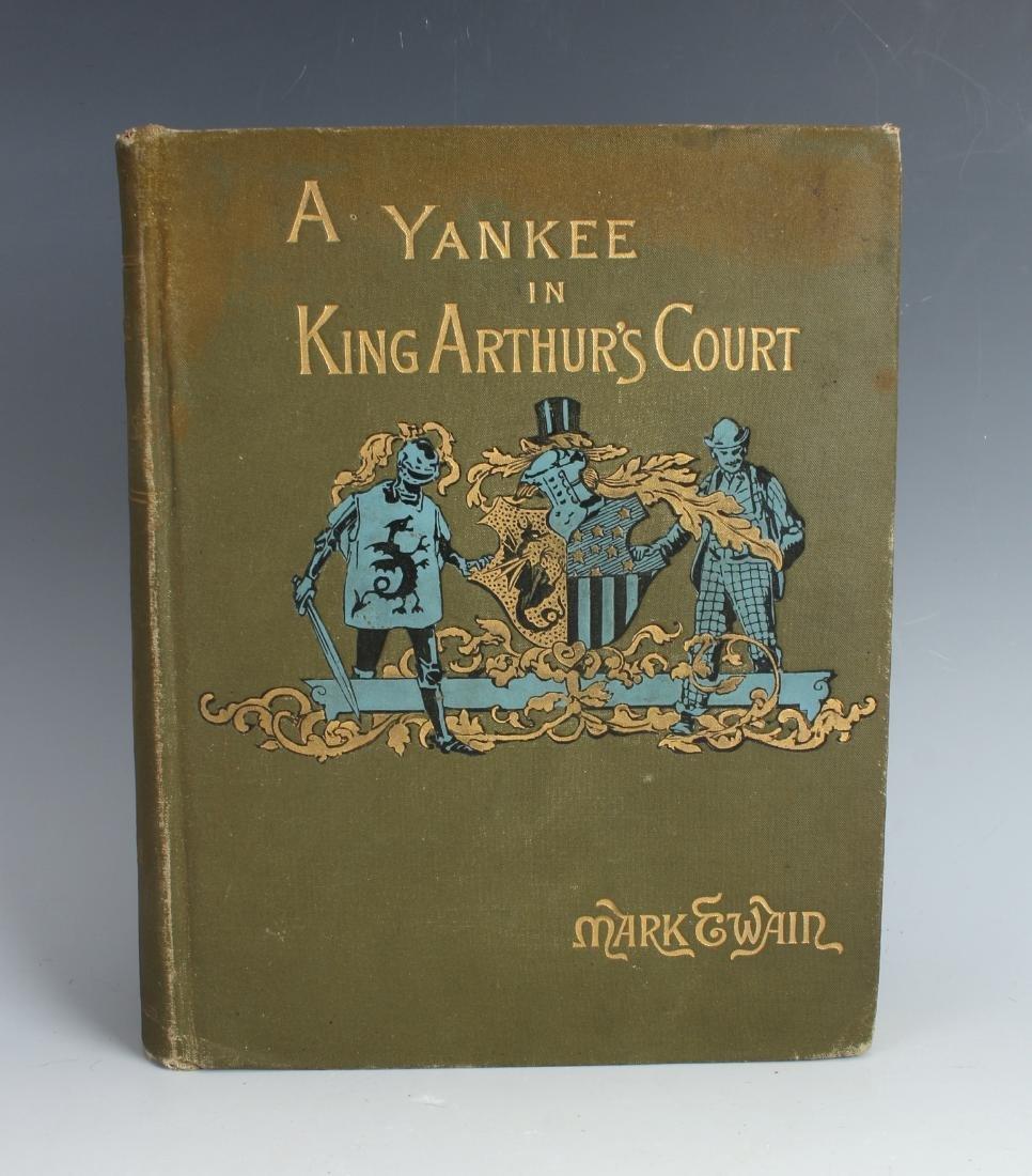 A YANKEE IN KING ARTHUR'S COURT TWAIN 1891