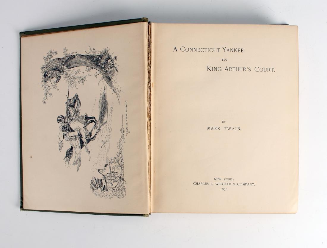 A YANKEE IN KING ARTHUR'S COURT TWAIN 1891 - 3