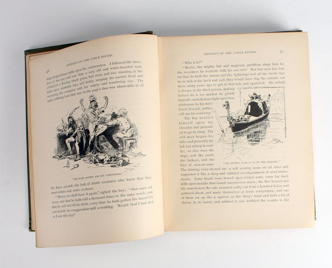 A YANKEE IN KING ARTHUR'S COURT TWAIN 1891 - 7