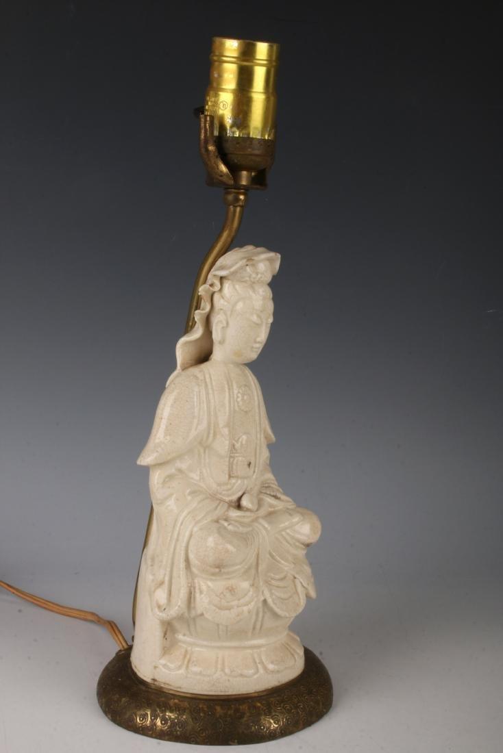 BLANC DE CHINE BUDDHA LAMP - 3