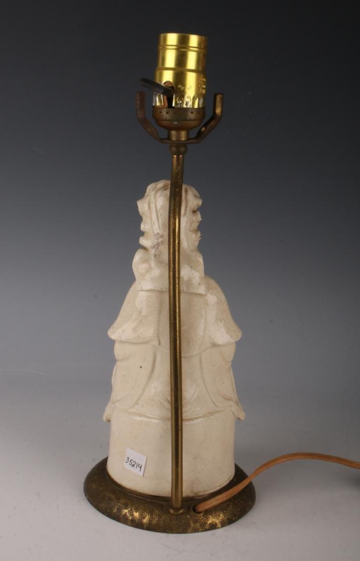 BLANC DE CHINE BUDDHA LAMP - 5
