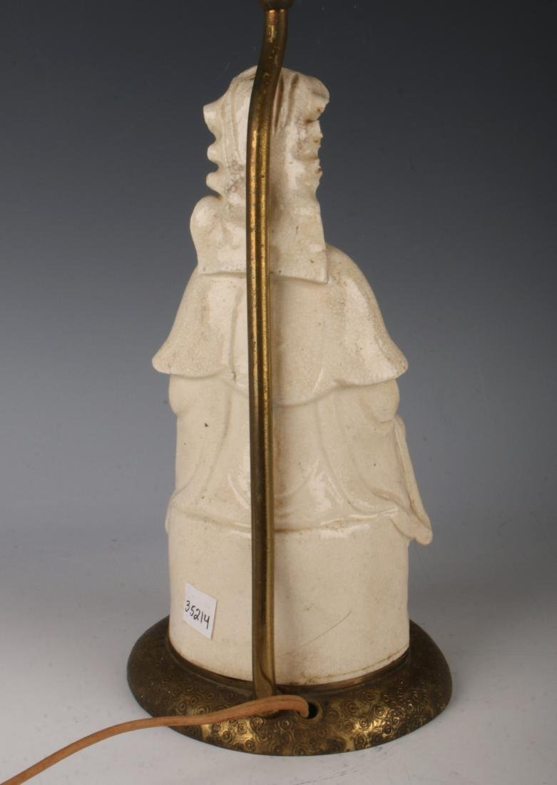 BLANC DE CHINE BUDDHA LAMP - 6
